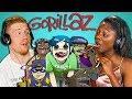 college kids react to gorillaz