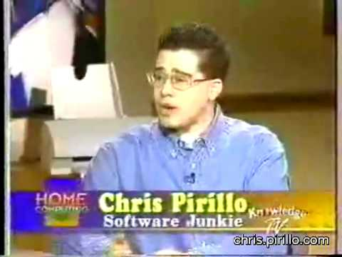 Chris Pirillo's First Cable Television Appearance (1997)