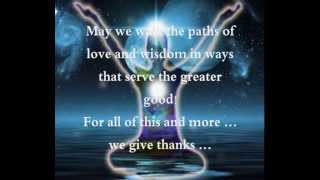 We Give Thanks - tones and intentions with Jasmuheen