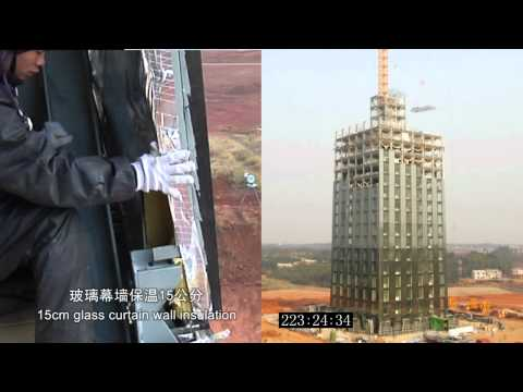 Changing the History: Building a 30-Story Hotel in 15 days. China Broad Group