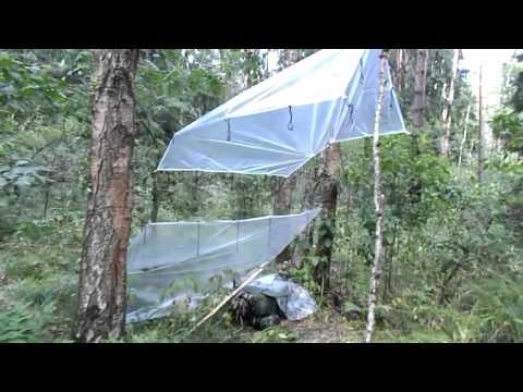 рыбалка палатка своими руками из пленки видео