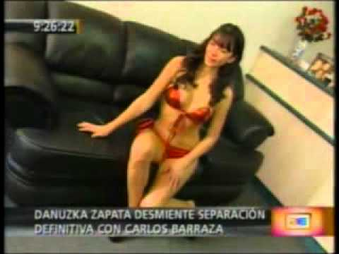 Danuska Zapata sexy bikini rojo