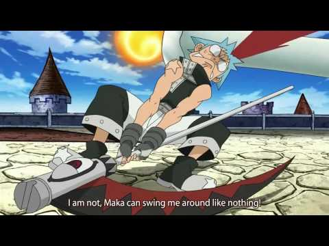 Soul Eater Fun Moment - Soul and Black Star