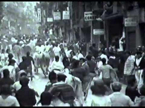 Encierro de San Fermín   17 de julio de 1976 480p