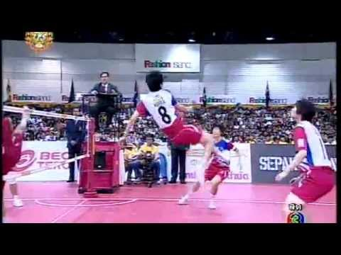 Sepak takraw ISTAF Super Series 2011 Women's Regu Final-Korea vs Thailand (Part3)