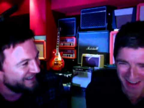 Noel Gallagher webcast with Matt Morgan - 22nd August 2011