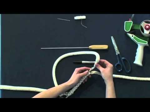 Class 1 Double Braid Eye Splice Part 1