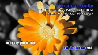 Giọt lệ tình karaoke ( only beat )