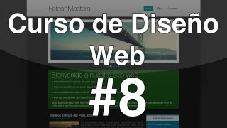 Curso de Diseño Web - 8. Diseño del Footer con CSS3