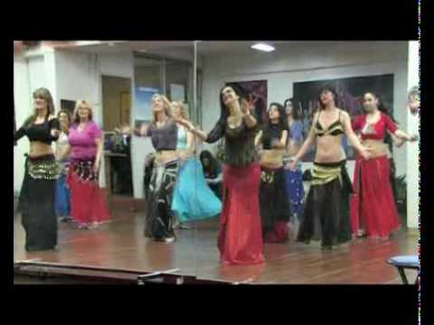 Bellydance Best Of cours de danse orientale avec Sandra  Nice France.flv