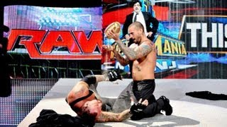 Thoughts on CM Punk Pouring Paul Bearer's Ashes on Undertaker. RAW 4/1/2013.
