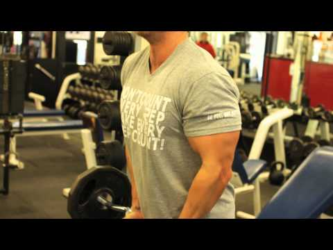 Close Grip EZ-Bar Curl - Rob Riches