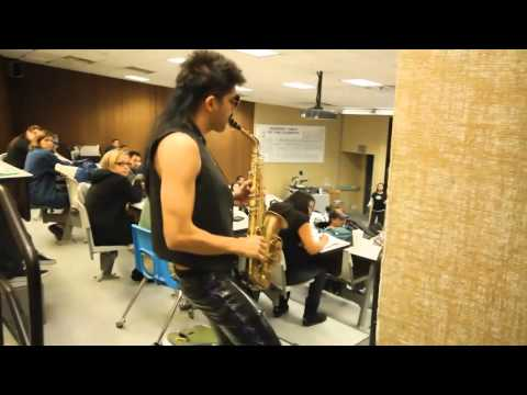 Sexy Sax Man Careless Whisper Prank feat. Sergio Flores (directors cut)