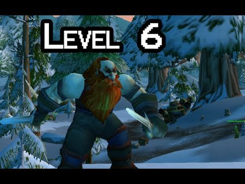 Let-s Play WoW with Nilesy - Level 6 (World of Warcraft gameplay)