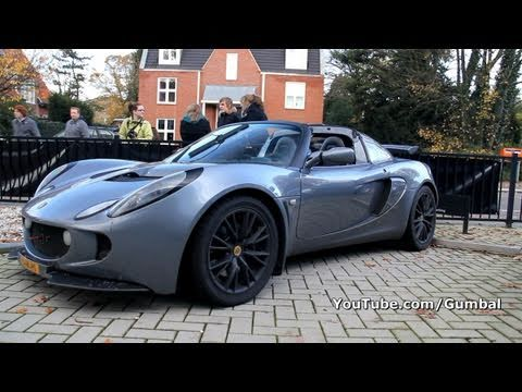 Lotus Exige Supercharged 260Bhp LOUD sound!! 1080p HD