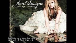 Avril Lavigne-Everybody Hurts(中文字幕)