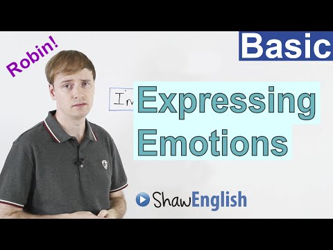 How to Express Emotions in English