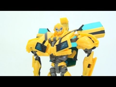 Video Review of the Transformers Prime (RiD) Deluxe Class; Bumblebee