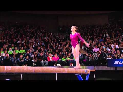 Alexandra Raisman - Balance Beam - 2012 AT&amp;T American Cup