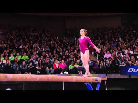 Alexandra Raisman - Balance Beam - 2012 AT&T American Cup