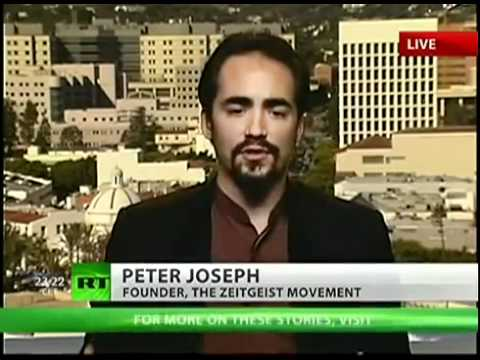 Peter Joseph on Media & Occupy Wall Street |  'Russia Today' Oct 27, 2011 [The Zeitgeist Movement]