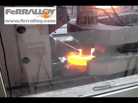 Rolled Ring Forging Process