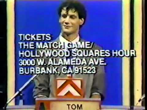 Match Game Hollywood Squares Hour episode from premiere week Part 3