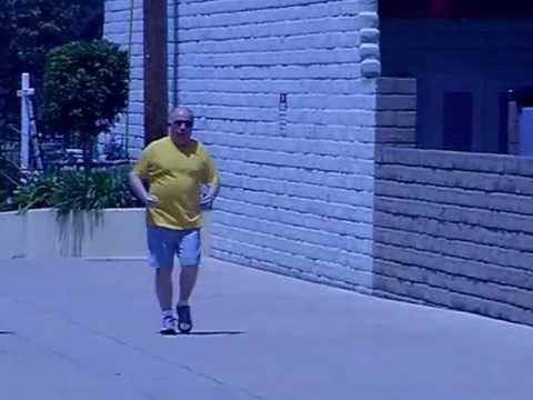 Watch A Rejuvenated Man Power Walk