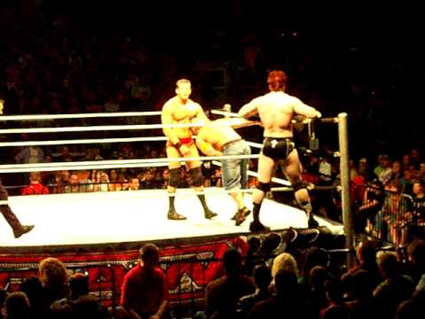 John Cena and Randy Orton vs. Sheamus and Ted DiBiase 2/3