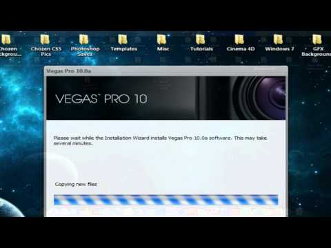 How To Get Sony Vegas Pro 10 Full Version FREE & EASY! (Voice Tutorial)