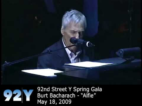Burt Bacharach performs Alfie at 92nd Street Y Spring Gala