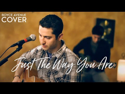 Just The Way You Are - Bruno Mars (Boyce Avenue acoustic/piano cover) on iTunes