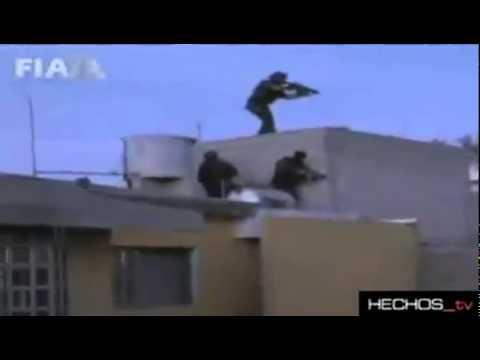 Mexico Federal police shootout with Los Zetas