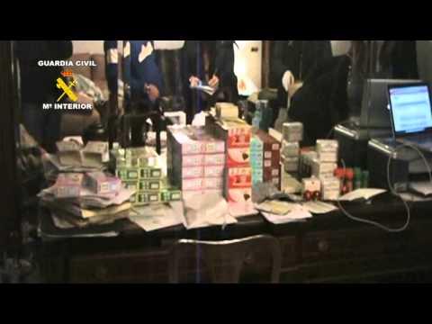 OPERACIÓN FRUCTUS. La Guardia Civil detiene a 2 personas por distribuir productos ilegales para el tratamiento de la obesidad.
