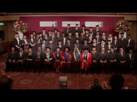 LSBF Graduation Celebration - Autumn 2011: The Highlights