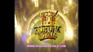 Ruhuna Royals Official Theme song Sinhala/English Launched