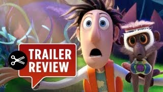 Instant Trailer Review - Cloudy With A Chance Of Meatballs 2 TRAILER (2013) - Bill Hader Movie HD