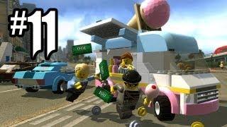 LEGO City Undercover Gameplay Walkthrough Part 11 - CRABBY COVE!! (Wii U HD)