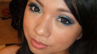 Makeup Tutorial: Colorful Mermaid