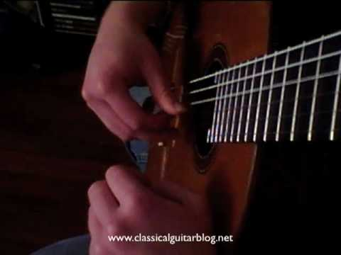 Classical Guitar Lesson:  Three Ways to Practice an Arpeggio