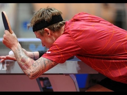 DHS Europe Cup 2014 Highlights: Michael Maze vs Dimitrij Ovtcharov (1/2 Final)