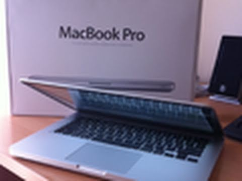 2011 Apple MacBook Pro i7 Unboxing 13.3 Inch
