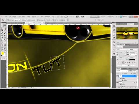 Photoshop CS5 - Speed Art Graphic Design