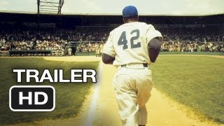 42 Official Trailer (2012) - Harrison Ford Movie - Jackie Robinson Story HD