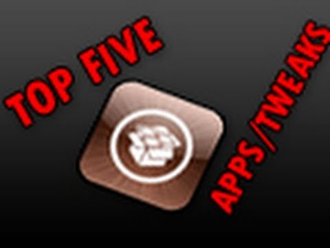 Top Five Cydia Apps/Tweaks For Your iPhone/iPod Touch!  **MUST-HAVE APPS/TWEAKS**