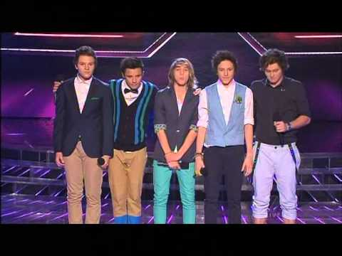 What About Tonight - Live Show 1 - The X Factor Australia 2012 - Top 12 [FULL]