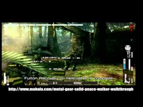Metal Gear Solid: Peace Walker Walkthrough - Level 12 - Attack Chopper Battle: Mi-24A