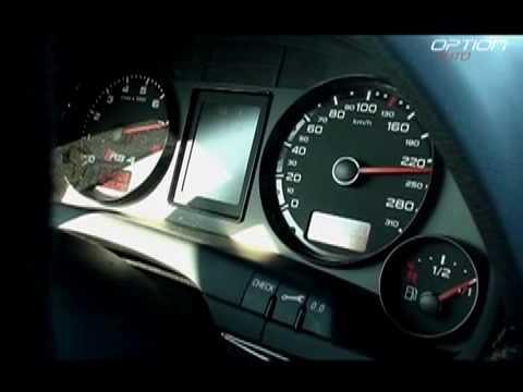 260 km/h en Audi RS4 (Option Auto)