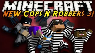 Minecraft Mini-Game : THE NEW COPS N ROBBERS ROUND 3!