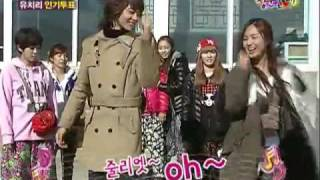 SHINee Minho & SNSD Yuri couple dance - juliette